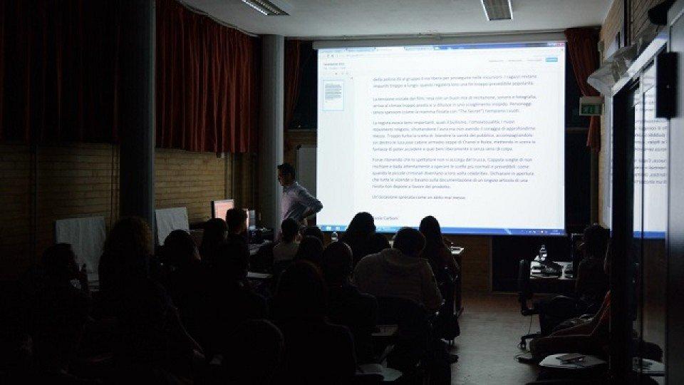"""Laboratorio """"Critica il corto"""" recensioni degli studenti"""